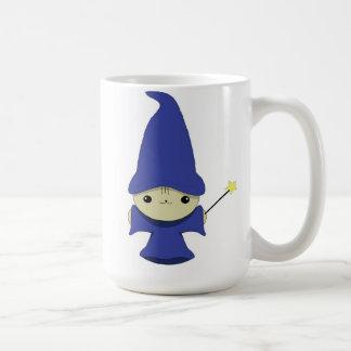 Kawaii wizard kitten mug. coffee mug