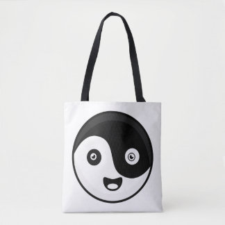 Kawaii Yin Yang Tote Bag