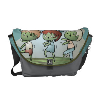 Kawaii Zombie Messenger Bag