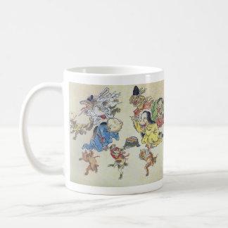Kawanabe Kyōsai, 'hundred ogre night traveling', Coffee Mug