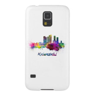 Kawasaki skyline in watercolor cases for galaxy s5
