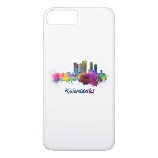 Kawasaki skyline in watercolor iPhone 7 plus case