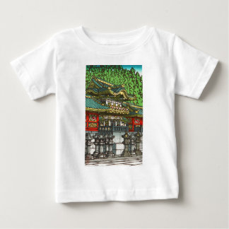 Kawase Hasui 川瀬 巴水: Toshogu Shrine in Nikko Baby T-Shirt