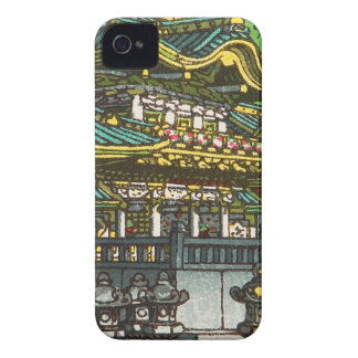 Kawase Hasui 川瀬 巴水: Toshogu Shrine in Nikko iPhone 4 Covers