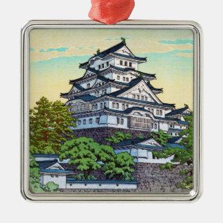 Kawase Hasui Pacific Transport Lines Himeji Castle Metal Ornament