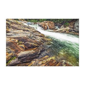 Kaweah River in Kings Canyon Canvas Print