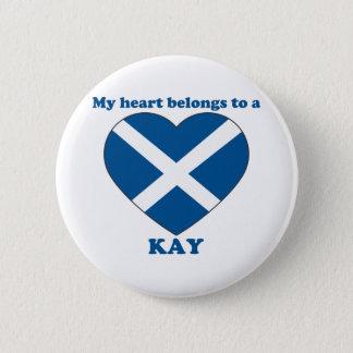Kay 2 Inch Round Button