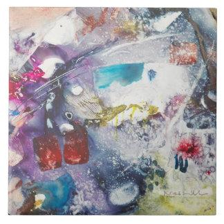 "Kay Cassill Ceramic Tile: ""Fish Fry"" Tile"