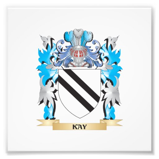 Kay Coat of Arms - Family Crest Photograph