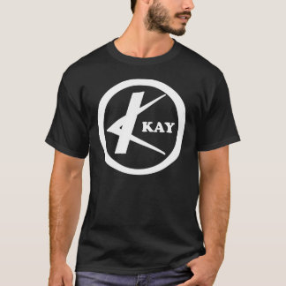 Kay Guitars circle logo T-Shirt
