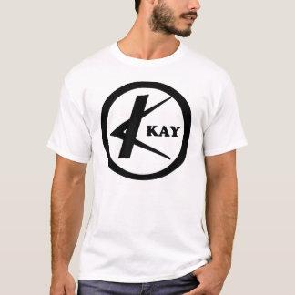 Kay Guitars circle logo T-Shirt