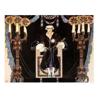 Kay NIelsen's Dark Nordic Prince Postcard