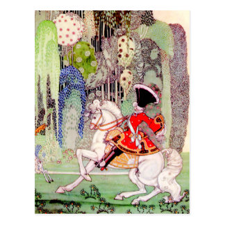 Kay Nielsen's Fairy Tale Prince Charming Postcard