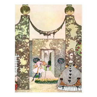 Kay Nielsen's Love In the Afternoon Postcard