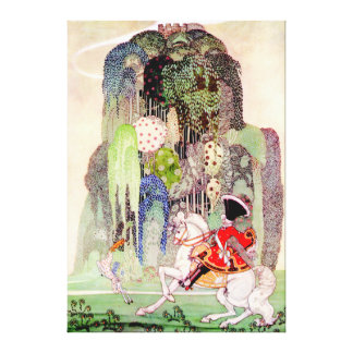 Kay Nielsen's Prince Charming from Sleeping Beauty Canvas Print
