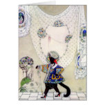 Kay Nielsen's Puss In Boots Greeting Card