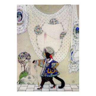 Kay Nielsen's Puss in Boots Poster