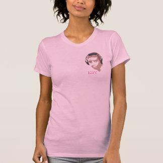 Kay womens pink beater T-Shirt
