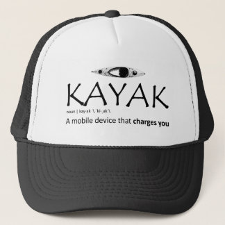 Kayak, A Mobile Device That Charges You Trucker Hat