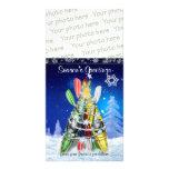 Kayak Christmas Tree – Photo Card