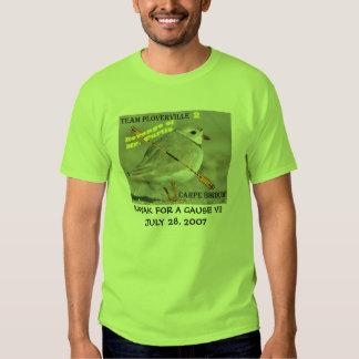 KAYAK FOR A CAUSE - Team Ploverville - KFAC VII T-shirt