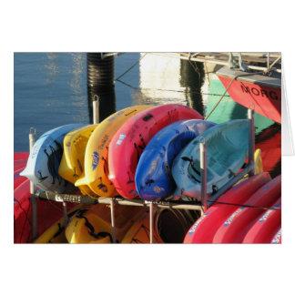 Kayak for Rent Card