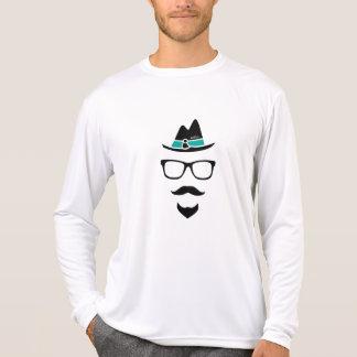 Kayak Hipster logo - Rash Guard T Shirt