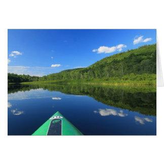 Kayak on River Card