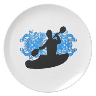 Kayak Rush Plate
