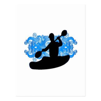 Kayak Rush Postcard