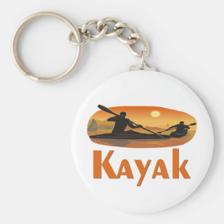 Kayak T-shirts and Gifts. Keychain