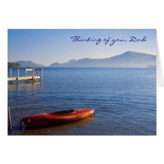 Kayak, Thinking of you, Dad Card