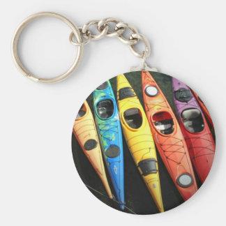 Kayak Time Keychain