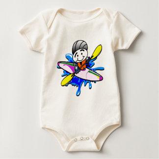 Kayaker Baby Bodysuit