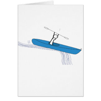 Kayaker Birthday Card