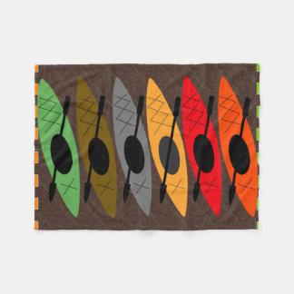 Kayaker Fleece Blanket