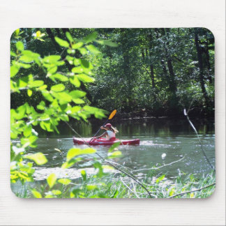 Kayaker Mouse Pad