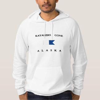 Kayakers Cove Alaska Alpha Dive Flag Hoodie