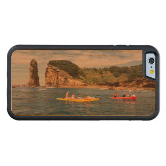 Kayaking in Azores Carved Cherry iPhone 6 Bumper Case