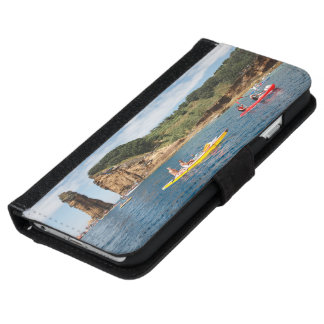 Kayaking in Azores iPhone 6 Wallet Case