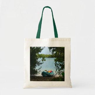 Kayaking in St. Thomas US Virgin Islands Tote Bag
