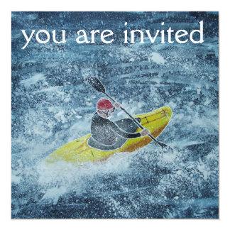 Kayaking invitation
