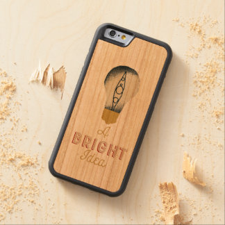 Kayaking is always a bright idea carved cherry iPhone 6 bumper case
