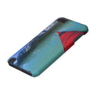 Kayaking on Waterfowl Lake below Howse Peak iPod Touch 5G Case