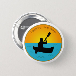 Kayaking Soul Rising 2 Inch Round Button