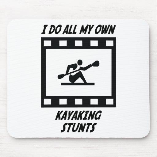 Kayaking Stunts Mouse Pad