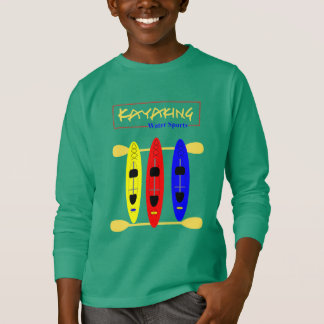 Kayaking Water Sports Themed Graphic T-Shirt