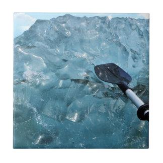 Kayaking with Icebergs Tile