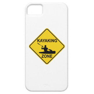 Kayaking Zone Road Sign Case For The iPhone 5
