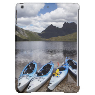 Kayaks, Cradle Mountain and Dove Lake, Cradle iPad Air Cases